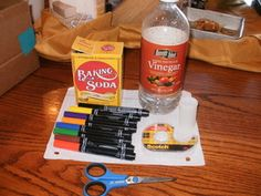 Vinegar and Baking Soda Rocket — DIY How-to from Make: Projects