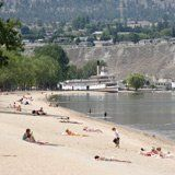 Penticton beach. People who think Canada is all snow and igloos have never been to the Okanagan!