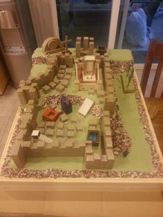 CGS - Walls of Jerusalem (created by BC Woodshop)