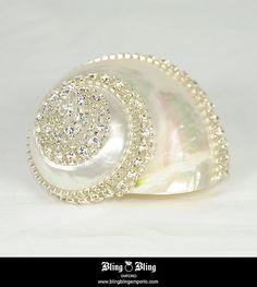 Swarovski Rhinestones   Swarovski Crystals Sea Shell   Flickr - Photo Sharing!