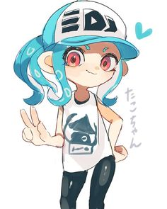 I finished the octo expansion and I cried during the final boss. ok, maybe I'm a little bit too emotional but how is it possible Splatoon… Splatoon 2 Game, Splatoon Memes, Nintendo Splatoon, Game Character, Character Design, Squid Girl, Fire Emblem, Drawing S, Game Art