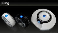 iRing Controls Your iPod » Yanko Design   Motion control for your TV or iPod.  Can't wait to have one!