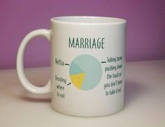Funny Marriage Mug  Funny Valentine's Gift  Unique Gift