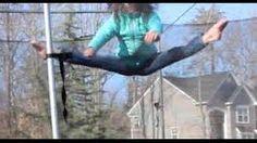 At Home Gymnastics: Trampoline Fun | Simply Liv