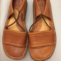 Born sandals. Comfy and in excellent condition Born sandals. Leather. $70 retail. No trades. Born Shoes