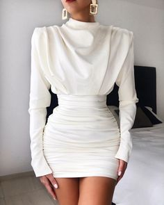 Dress Elegant White Classy - Dress Elegant White Classy Source by Blaue. - - Dress Elegant White Classy – Dress Elegant White Classy Source by Blauerzucker – Source by lulutaShop Elegant Dresses Classy, Classy Dress, Classy Outfits, Stylish Outfits, Casual Outfits For Girls, Classy Clothes, Elegant Styles, Elegant Outfit, Style Clothes