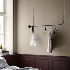 Pujo Hanging Coat Rack by Ferm Living at Lumens.com Rack Design, Küchen Design, Armoire, Hanging Coat Rack, Schonbek Lighting, Metropolitan Lighting, Nelson Bubble Lamp, Danish Design Store, Modern Fan