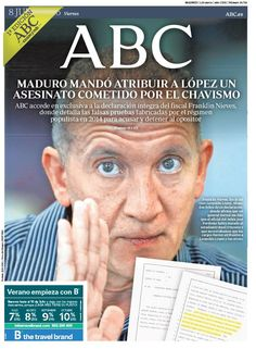 La Portada de ABC para el viernes 8 de julio