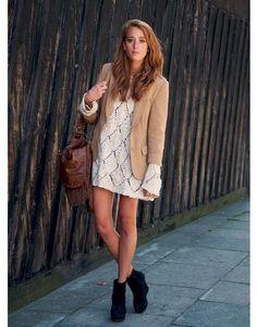 Para Inspirar: Vestido de Crochet | Blog da Fernanda Gregorin
