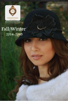 wool  felt  hat with a  handmade  leather  flower  musthave 640bab28ddd4