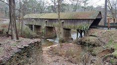Cobb County landmark? — at Concord Covered Bridge.