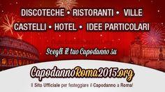 Le migliori offerte dedicate al Capodanno 2015 a Roma! All'interno della pagina sono segnalate tutte le promozioni disponibili per il veglione del 31 Dicembre 2014.