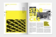 Vuelco - Architecture Magazine by Bando #grafica #impaginato