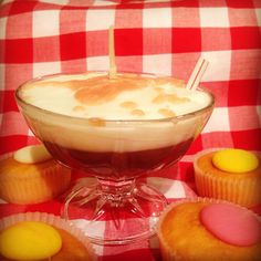 You're Crackin' a Yolk Candle Punch Bowls, Ice Cream, Candles, Food, Ice Candy, Gelato, Meal, Icecream Craft, Essen