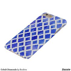 Cobalt Diamonds @zazzle #zazzle #phone #phonecase #case #shop #shopping #fashion #style #tech #products #accessory #accessories #gift #gifting #giftidea #gifts #men #women #buy #sale #blue #diamonds #cobalt