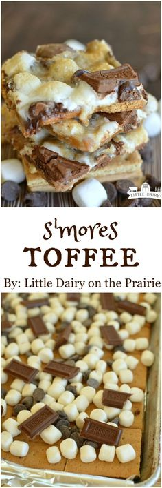 S'mores Toffee (aka S'mores Crack) is everything you love about s'mores without the campfire! I'm warning you though...these are highly addicting!