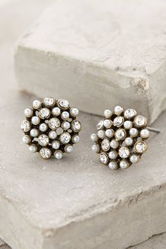 at Anthropologie Lumi Posts earrings