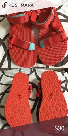 c00705b3c34 Teva Original Universal Sandals in Red Super cute athletic style sandals  great for water activities and
