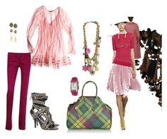 hot pink by wapa1 on Polyvore featuring polyvore, fashion, style, Calypso St. Barth, Balenciaga, Givenchy, Vivienne Westwood, Forever 21, Juicy Couture, Missoni, clothing and spring awakening
