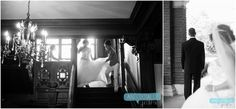 First Look | Loose Mansion | KC Weddings | Anecdotally Yours Blog