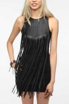 #Urbanoutfitters #dress #leather