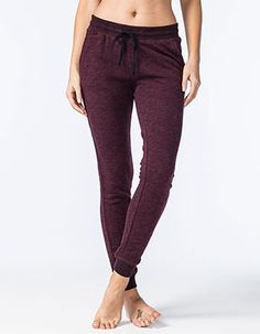 FULL TILT Essential French Terry Marled Womens Jogger Pants