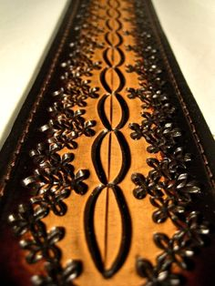 Hand Tooled Leather Guitar Strap Hot Seller Pattern by LeatherPro, $119.00