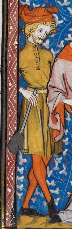 Les Grandes chroniques de France 1332-1350 Royal MS 16 G VI Folio 17r