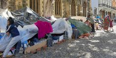 African Refugees in Cape Town Stranded: pastor lives on the street - Agogo Ayo News Church Building, African Beauty, Law Enforcement, Cape Town, Washing Clothes, To Go, Street, Life, Pastor