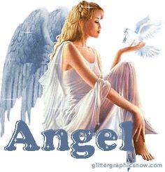 Angel » Glitter Graphics for MySpace, Hi5, Orkut - GlitterGraphicsNow.com