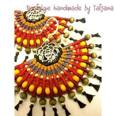 Macrame earrings  https://m.facebook.com/Nostalgie-Handmade-by-Tatjana-425760884176858/