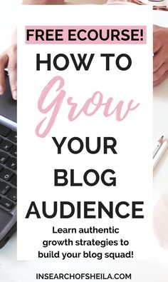 Free 7-Day Build Your Blog Squad eCourse