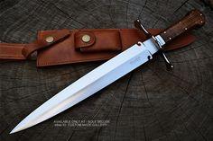 Sean Austin personalizada hecha a mano Daga cuchillo táctico D2 US Steel Caza Militar • $ 109.00 - PicClick