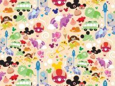 1024x768DisneyJr Pattern wallpaper