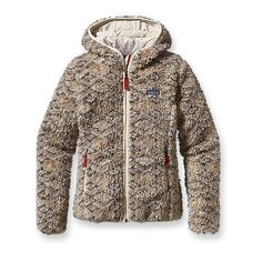 Patagonia Women's Retro-X Cardigan  This looks so warm and fuzzy.  Like wearing a teddy bear!