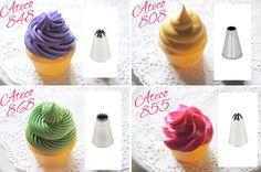 National Cupcake Week tutorial: How to pipe cupcakes! |