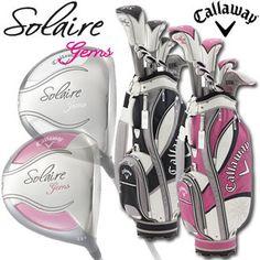 2014 Calloway SOLAIRE GEMS (it yl Cem's) golf club set ◆ Lady's◆