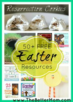 50+ Free Easter Resources: Educational, Crafts, Recipes, plus more