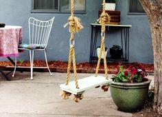Cómo realizar un columpio en el jardín | Blog de Habitissimo