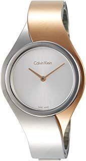 Calvin Klein Damen Analog Quarz Uhr Mit Edelstahl Armband K5n2m1z6 Geschenkideen Uhren Schmuck Edelstahl Armband Calvin Klein Damen Damenuhren