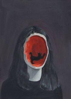 Illustration Art by Aykut Aydoğdu. Aykut Aydoğdu, Turkey is an artist born in. Images Vintage, Psy Art, Arte Horror, Creepy Art, Weird Art, Psychedelic Art, Surreal Art, Art Plastique, Aesthetic Art