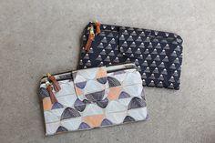 Double Zip Wallets // Handmade Style | Noodlehead | Bloglovin'