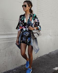 How to Style a Romper | POPSUGAR Fashion