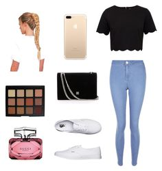 """""""Untitled #44"""" by rebekahdrhodes03 ❤ liked on Polyvore featuring beauty, Ted Baker, New Look, Vans, Morphe and Gucci"""