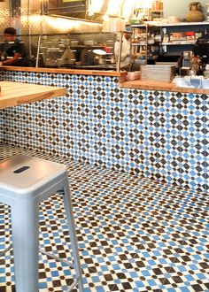 Anemone C11-14-4 - moroccan cement tile