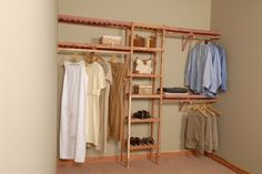 This is a great DIY project, wonderful for new construction or home remodel. Our 8' Basic Ventilated Aromatic Red Cedar Closet Systems come with ventilated shelf assembly (that allows for light and ai