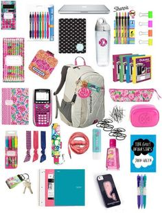 Cute back to school supplies all of this is so a shop smart online and save . cute back to school supplies