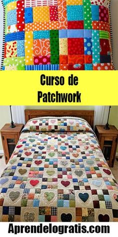 Modern Quilt Patterns, Quilt Patterns Free, Quilting Projects, Sewing Projects, Tutorial Patchwork, Heart Quilt Pattern, Diy House Projects, Patch Quilt, Scrappy Quilts