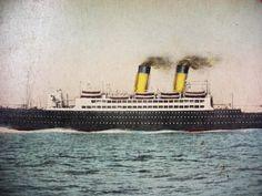 RMS Melita Vintage Postcard Steamboat by NeatstuffAntiques on Etsy
