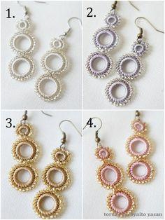 Bonjukkuoya earrings beads accessories